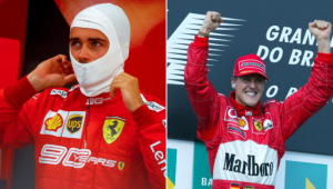 Chefe da Ferrari faz comparação entre Charles Leclerc e Michael Schumacher