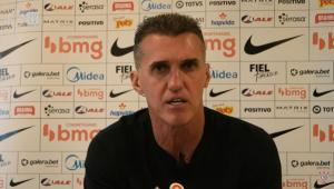 Vagner Mancini vê Corinthians mais confiante e explica troca de Jô por Léo Natel