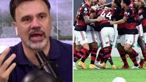 Mauro Beting vê Flamengo forte na briga pelo Brasileirão: 'Está melhor que o São Paulo'