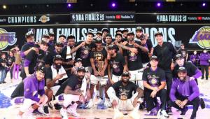Campeões da NBA em 2019/20, jogadores do Lakers não visitarão a Casa Branca