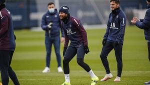 Treinador do PSG mantém esperança sobre retorno de Neymar contra o Barcelona