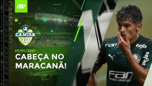 Palmeiras e Santos TROPEÇAM antes da FINAL da LIBERTADORES! | CAMISA 10 - 27/01/21