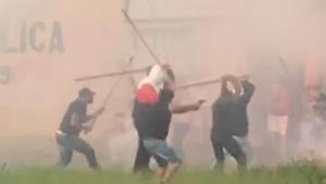 Torcedores de Santos e São Paulo entram em confronto em Campinas; veja vídeo