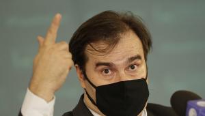 Rodrigo Maia sentou em cima da autonomia do Banco Central