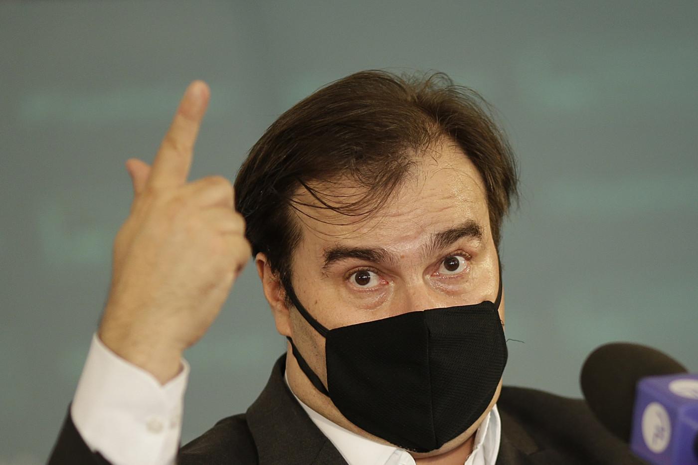 Rodrigo Maia faz parte do DEM desde a sua fundação, em 2007