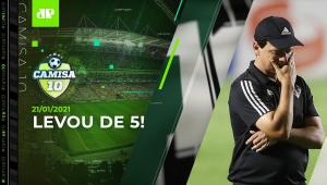 São Paulo DÁ VEXAME contra o Inter e DEIXA a liderança do Brasileirão! | CAMISA 10 - 21/01/2021