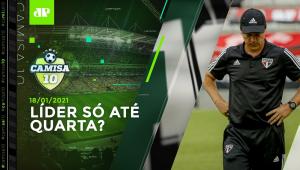 São Paulo EMPATA no Paraná e vê Inter COLAR na liderança! | Camisa 10 -18/01/2021