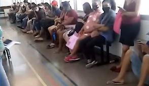 Pacientes denunciam aglomeração em hospital municipal de São Paulo