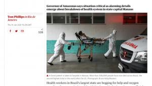 Crise no Amazonas repercute na imprensa internacional
