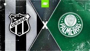 Ceará x Palmeiras: assista à transmissão da Jovem Pan ao vivo