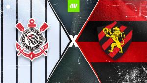Corinthians x Sport: assista à transmissão da Jovem Pan ao vivo