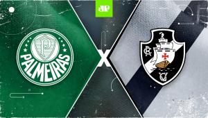 Palmeiras x Vasco: assista à transmissão da Jovem Pan ao vivo
