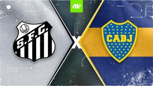 Santos x Boca Juniors: assista à transmissão da Jovem Pan ao vivo