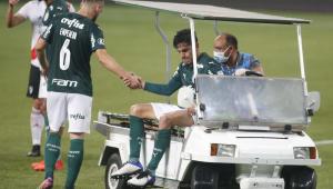 Com lesão na virilha, Gustavo Gómez inicia tratamento para jogar final da Libertadores