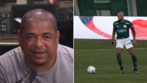 Vampeta surpreende com comentário antes da final entre Palmeiras x Santos