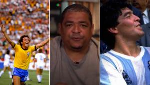 Quem foi melhor: Zico ou Maradona? Veja o que Vampeta respondeu