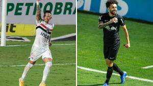 Luciano e Claudinho terminam empatados na artilharia do Brasileirão