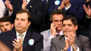 ACM Neto e Rodrigo Maia