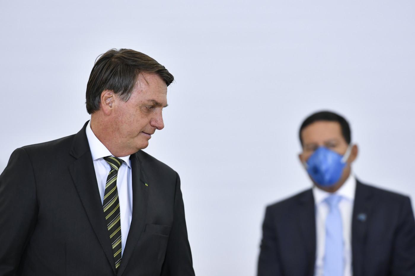 Jair Bolsonaro - Hamilton Mourão