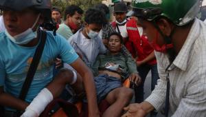 Protesto contra golpe militar em Myanmar tem 18 mortos após repressão da polícia