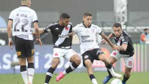 Vasco empata com o Corinthians e só evita cair para Série B com milagre