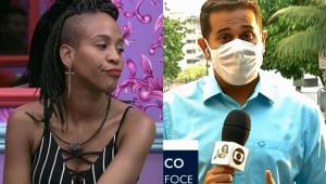 Karol Conká no BBB 21; Isaac Macêdo no Bom Dia Ceará