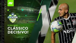 É HOJE! Santos e Corinthians fazem CONFRONTO DIRETO por vaga na Libertadores! | CAMISA 10 -17/02/21