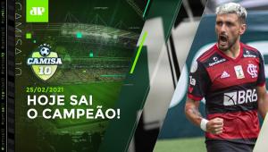 É HOJE! São Paulo x Flamengo e Inter x Corinthians DECIDEM o CAMPEÃO BRASILEIRO! | CAMISA 10 - 25/02