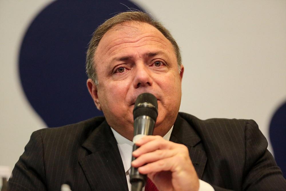 Eduardo Pazuello é ministro da Saúde do governo Jair Bolsonaro