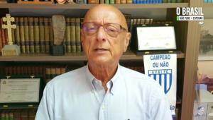 Senador Espiridião Amim dá depoimento à Jovem Pan