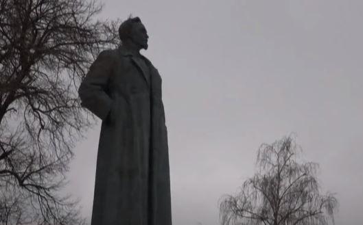 Estátua em Moscou, na Rússia