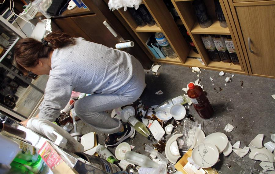 Image result for Terremoto com epicentro no mar a leste do Japão é sentido em Tóquio e Fukushima