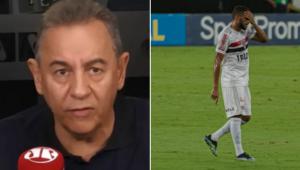 Flavio Prado detona São Paulo após derrota para o Botafogo: 'Desempenho pífio'