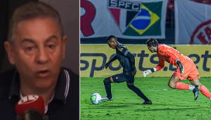 Flavio critica São Paulo e 'cagada' de Volpi em empate com o Ceará: 'Horrível'