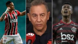 Flavio Prado cita 'mala branca' e polemiza antes de São Paulo x Flamengo; assista