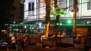 Aglomerações e desrespeito a regras marcam início do 'lockdown noturno' em São Paulo