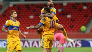 Gignac celebra gol do Tigres no Mundial de Clubes