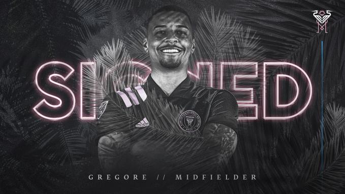 Gregore, ex-Bahia, foi anunciado pelo Inter Miami, dos Estados Unidos