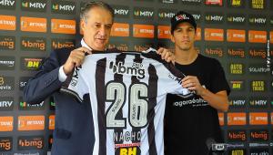 Nacho Fernández promete assumir protagonismo no Atlético-MG: 'Preparado'