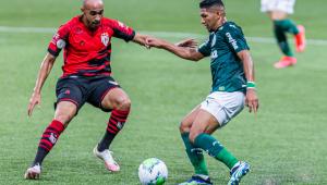 Palmeiras empata em 1 a 1 com o Atlético-GO pelo Brasileirão