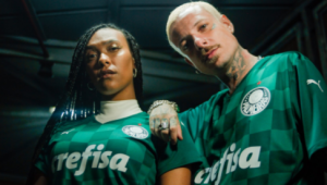Palmeiras e Puma lançam novo uniforme e definem data de estreia; confira