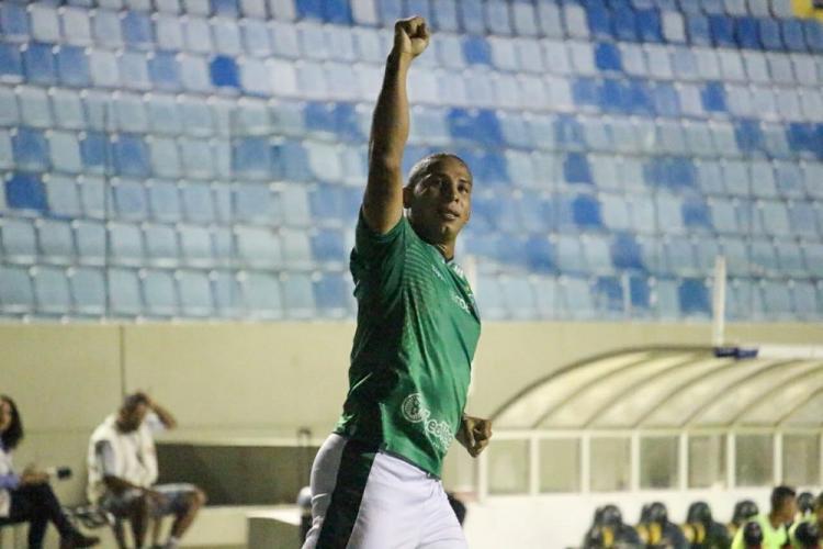 Rafael Costa celebra gol no duelo com o Oeste, pelo Paulistão de 2020