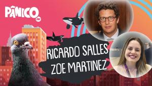 RICARDO SALLES E ZOE MARTINEZ - PÂNICO - 26/02/21