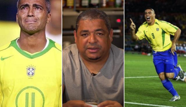 Vampeta revela reação do elenco da seleção com Ronaldo na vaga de Romário em 2002