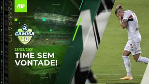 São Paulo PASSA VERGONHA e PERDE para o LANTERNA Botafogo no RJ! | CAMISA 10 - 23/02/21
