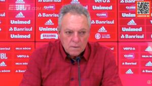 entrevista coletiva do treinador Abel Braga, do Internacional