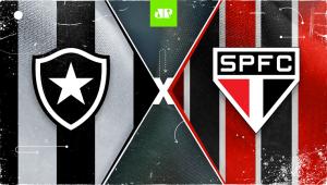 Botafogo x São Paulo: assista à transmissão da Jovem Pan ao vivo