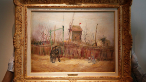 Quadro de Van Gogh que não é exibido há um século irá a leilão