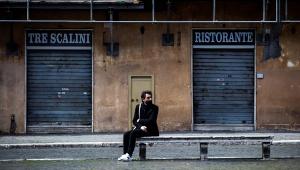 Lockdown em Roma, na Itália