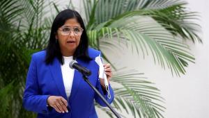 Vice-presidente da Venezuela, Delcy Rodríguez